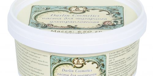 Ультраплотная паста для шугаринга «DarlinCosmetics»